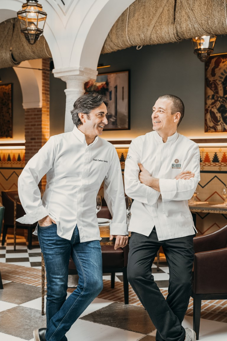 Leading our kitchen is Michelin-starred chef José Carlos García and our head chef Marcos Granados.