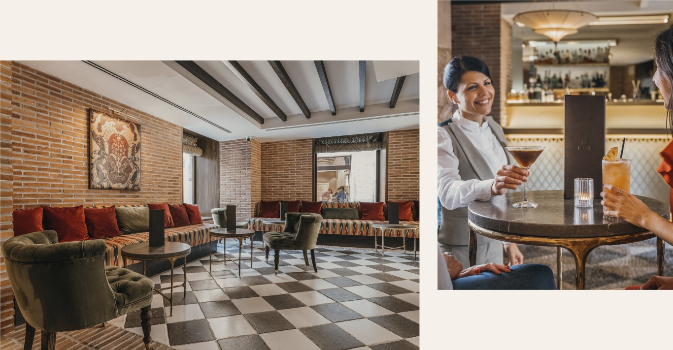 Lobby bar Palacio Solecio Balausta Restaurant