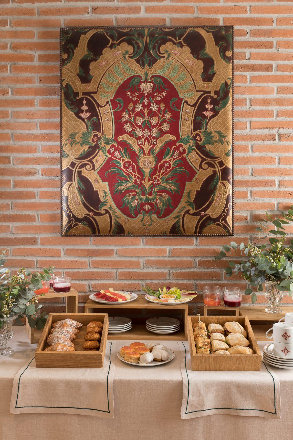 El chef José Carlos García ha diseñado varios menús para grupos con platos muy nuestros, que se pueden disfrutar tanto en el patio de Balausta como en las salas privadas de Palacio Solecio.