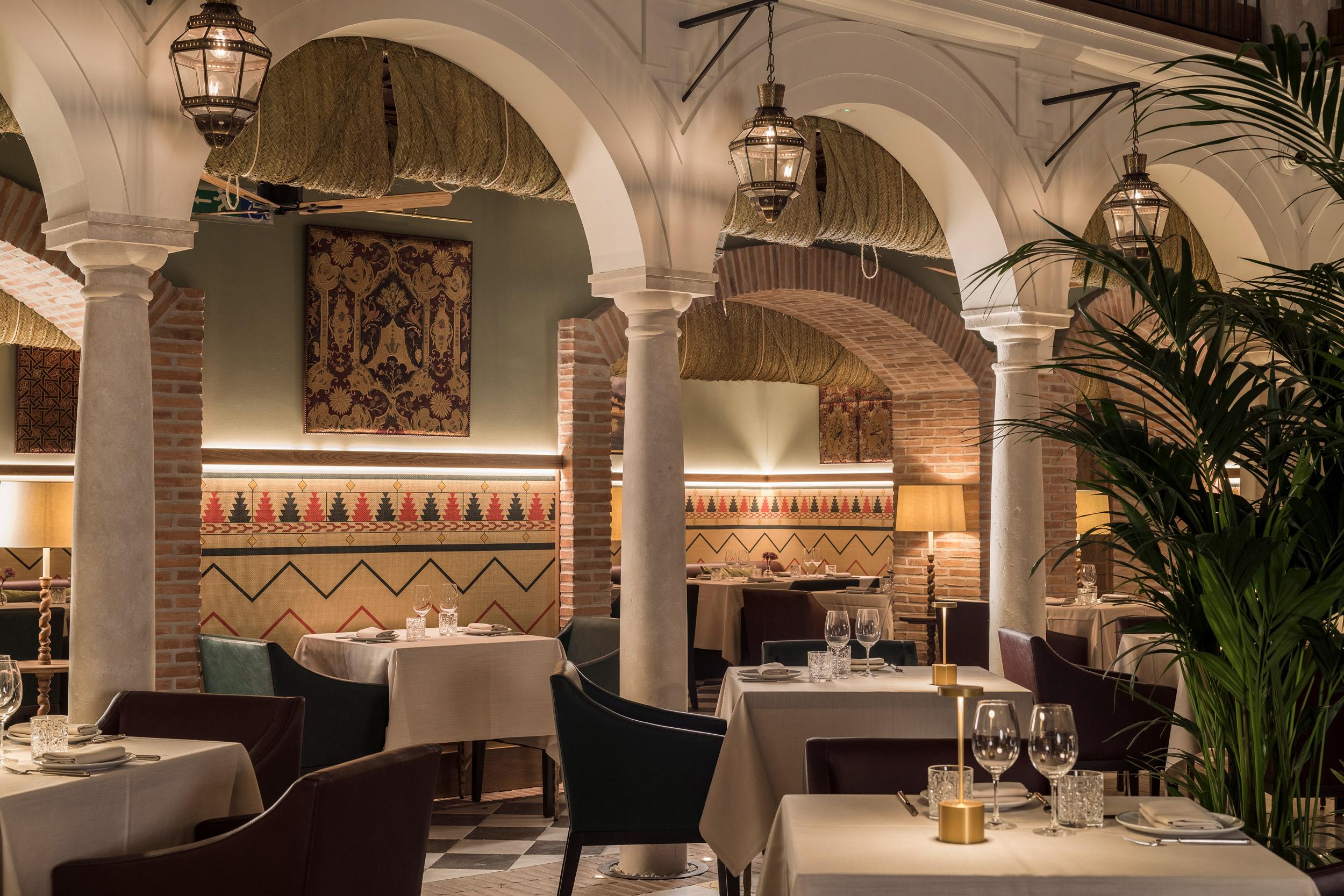 Restaurante Balausta, Málaga.
