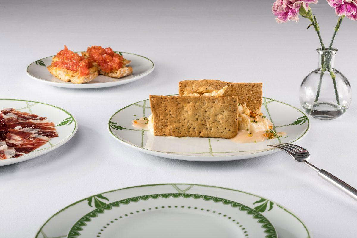 Uno de los platos de la carta del restaurante Balausta, Málaga.